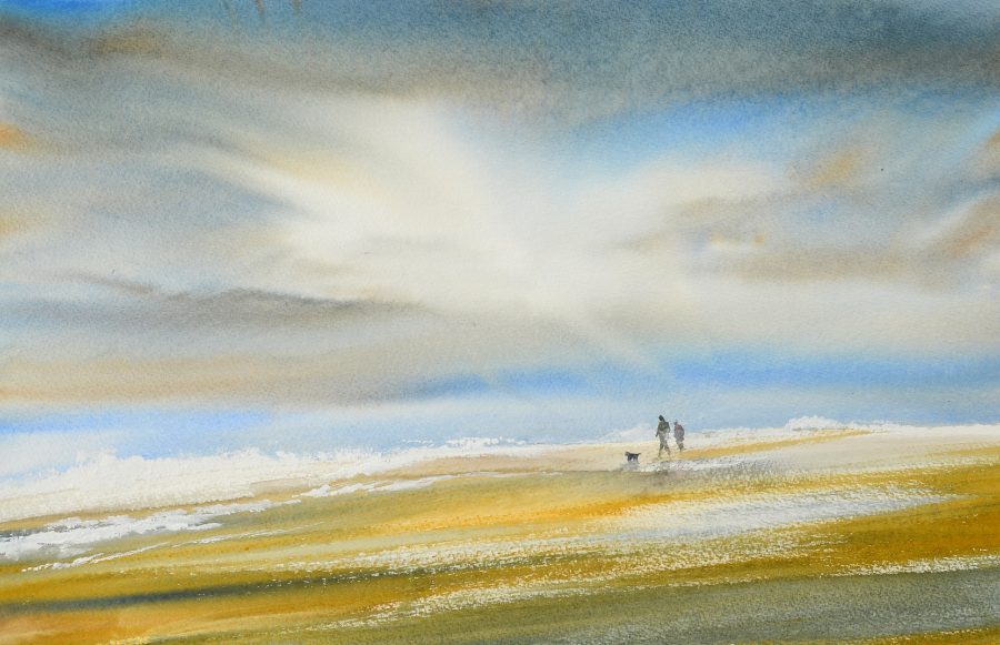 Keith Nash landscape and marine artist in watercolours